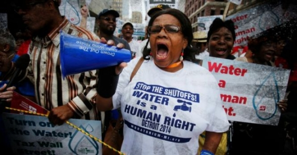 Racist Detroit Policies Lead to Lawsuit Against Water Shut-Offs