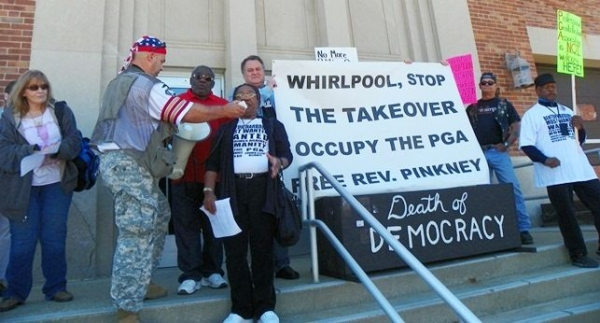Rev. Edward Pinkney Imprisoned for Fighting the Whirlpool Corporation